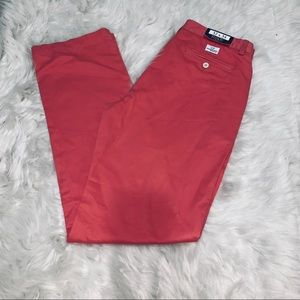 NWT Vineyard vines jetty red classic fit club pant